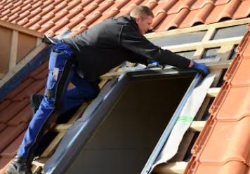ремонт мансардного окна Рото