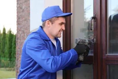 ремонт входной алюминиевой двери