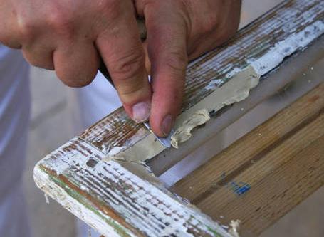 Ремонт деревянный окон своими руками 432